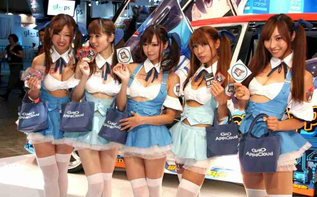 Tokyo Motorshow Girls 2013