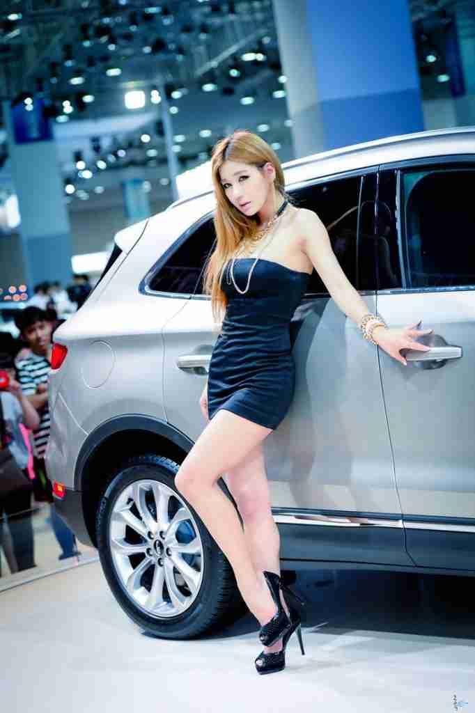 Park Si Hyun Busan Motor Show 2014 BEXCO