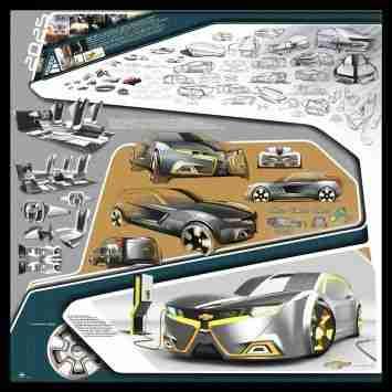 2025 Chevrolet Volt Sport Wagon Concept by Ahmed Ghamloush – Design Board