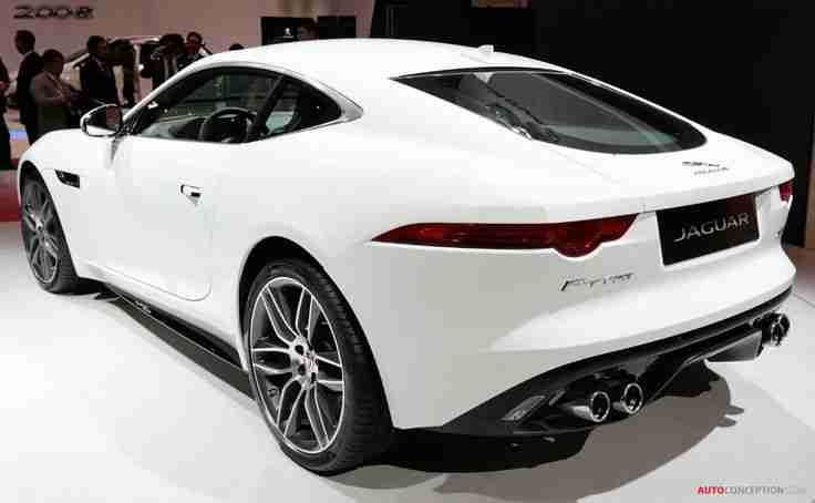 LA Auto Show 2013: Jaguar F-TYPE Coupe