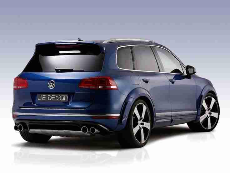 VW Touareg R-Line: Tuning von JE Design
