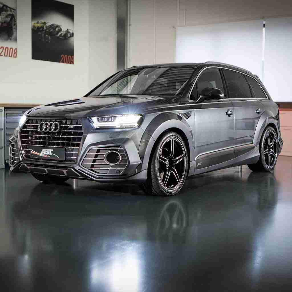 "ABT Sportsline on Instagram: ""ABT Audi QS7. Find us at the Geneva Motor Show booth 1244. #ABT #Audi #Q7 #QS7 #bodykit #wheels #geneva #motorshow #GIMS #AudiTuning"""