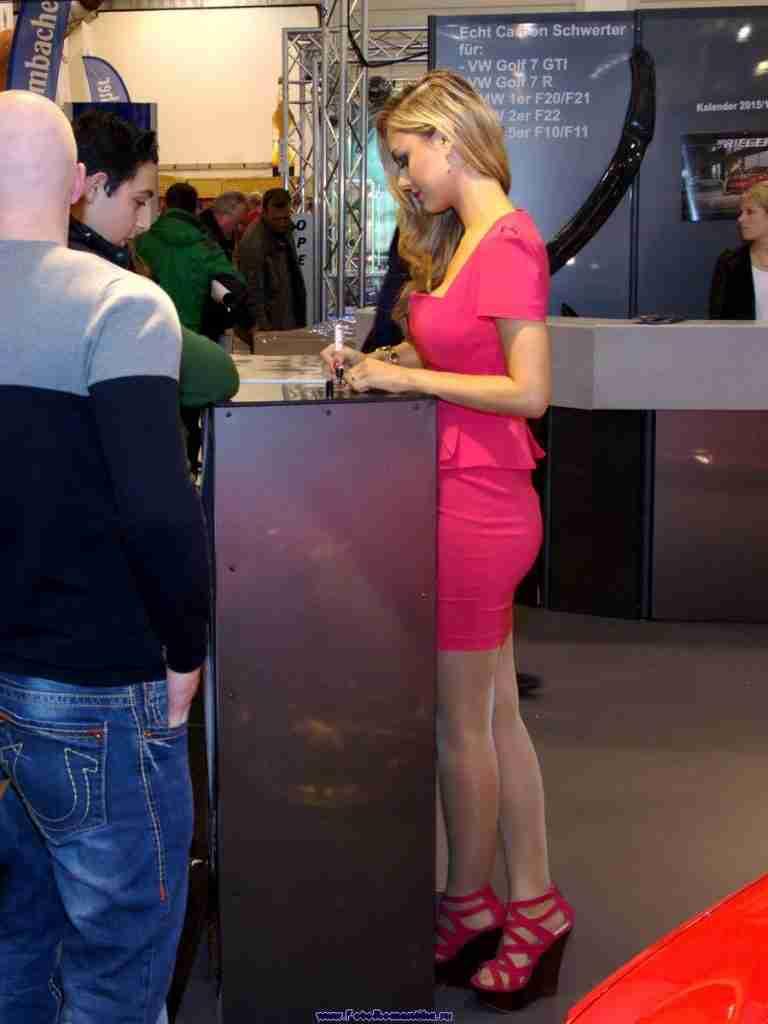 "FotoRomantika, публикация ""Essen Motorshow 2014 – Veronika Klimovits (…"