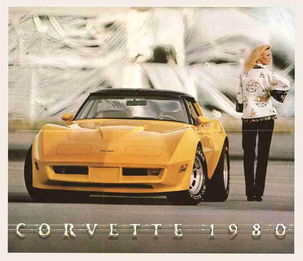 1980 Corvette Brochure