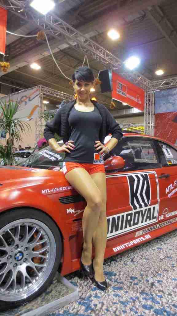 Girls at Essen Motor Show 2012