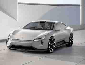 Polestar Takes Aim At Tesla with Futuristic Precept 4-Door