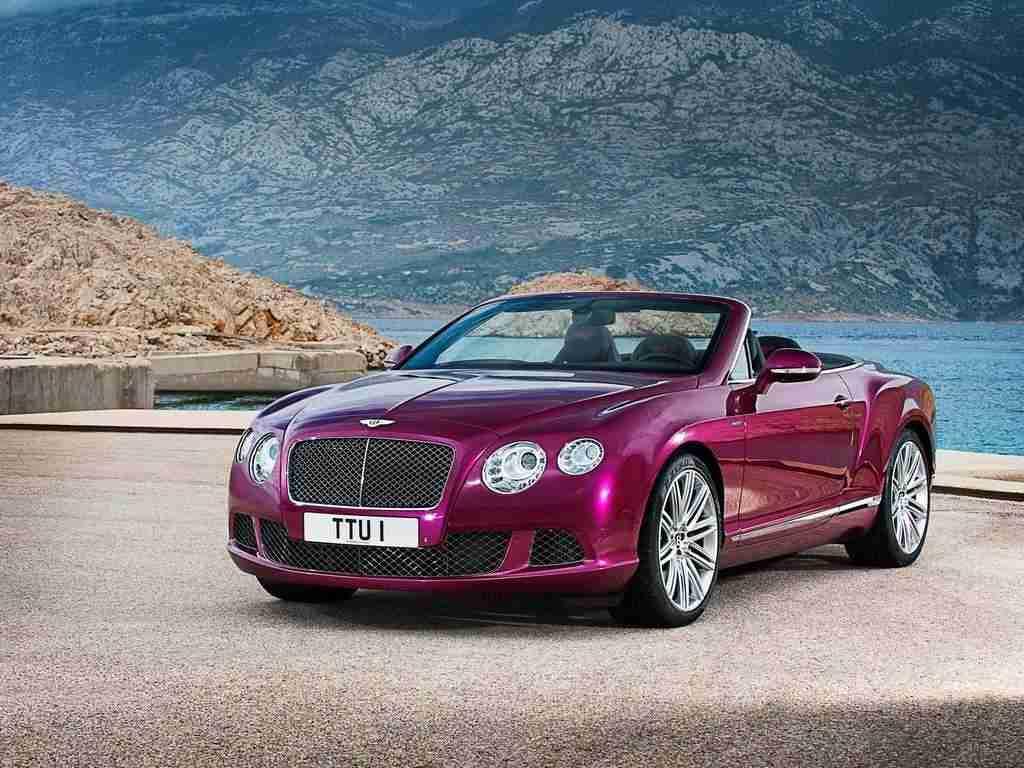 "Bentley Continental GT: versione ""Speed"" Convertible | Cavalli Vapore"