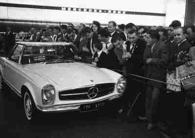 """Die Baureihe W 113 (1963 bis 1971) – Die """"Pagode"""" – Mercedes-Benz Passion Blog / Mercedes Benz, smart, Maybach, AMG"""