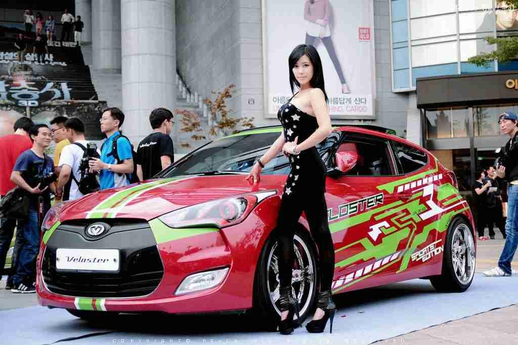 Kim back again, from the 2012 Seoul Auto Show