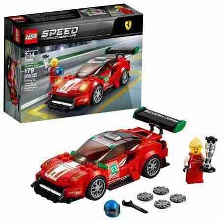 Lego Speed Champions Ferrari 488 GT3 Scuderia Corsa75886, NA