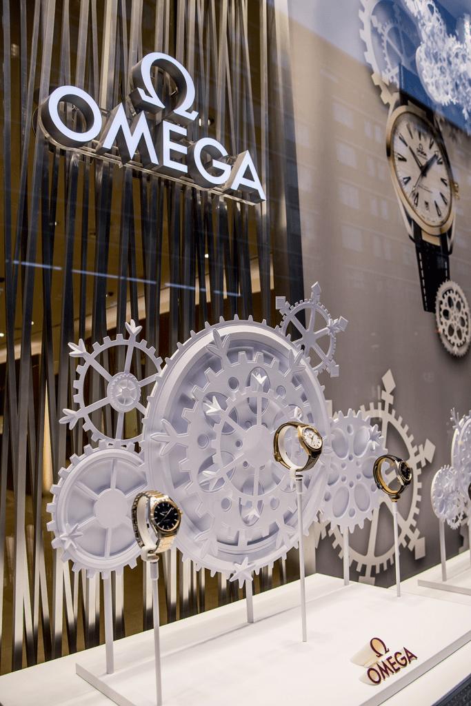 Omega Worldwide Holiday Windows –