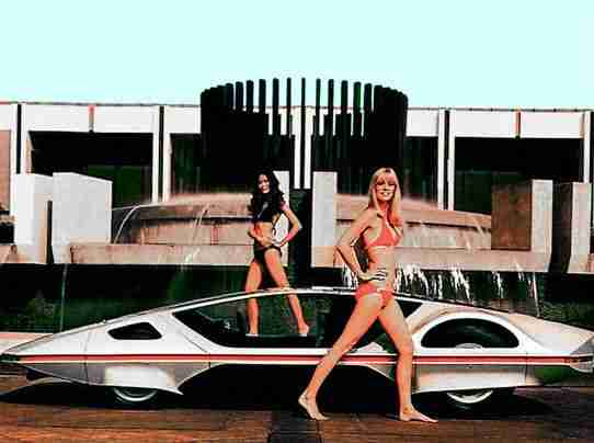 Fast Cars and Show Models of 60s, 70s and onwards
