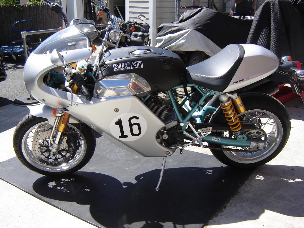 72-Mile 2006 Ducati Paul Smart 1000 LE